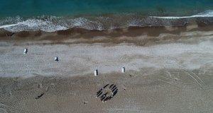 antalya caretta caretta yuvaladığı sahil