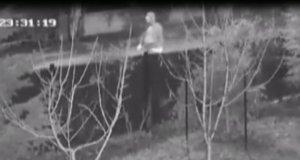 Doktor Zeynel Abidin Yargıç'ın olay gecesinden güvenlik kamerası görüntüsü