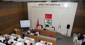 Bolu Belediye Meclisi'nden temsili bir fotoğraf