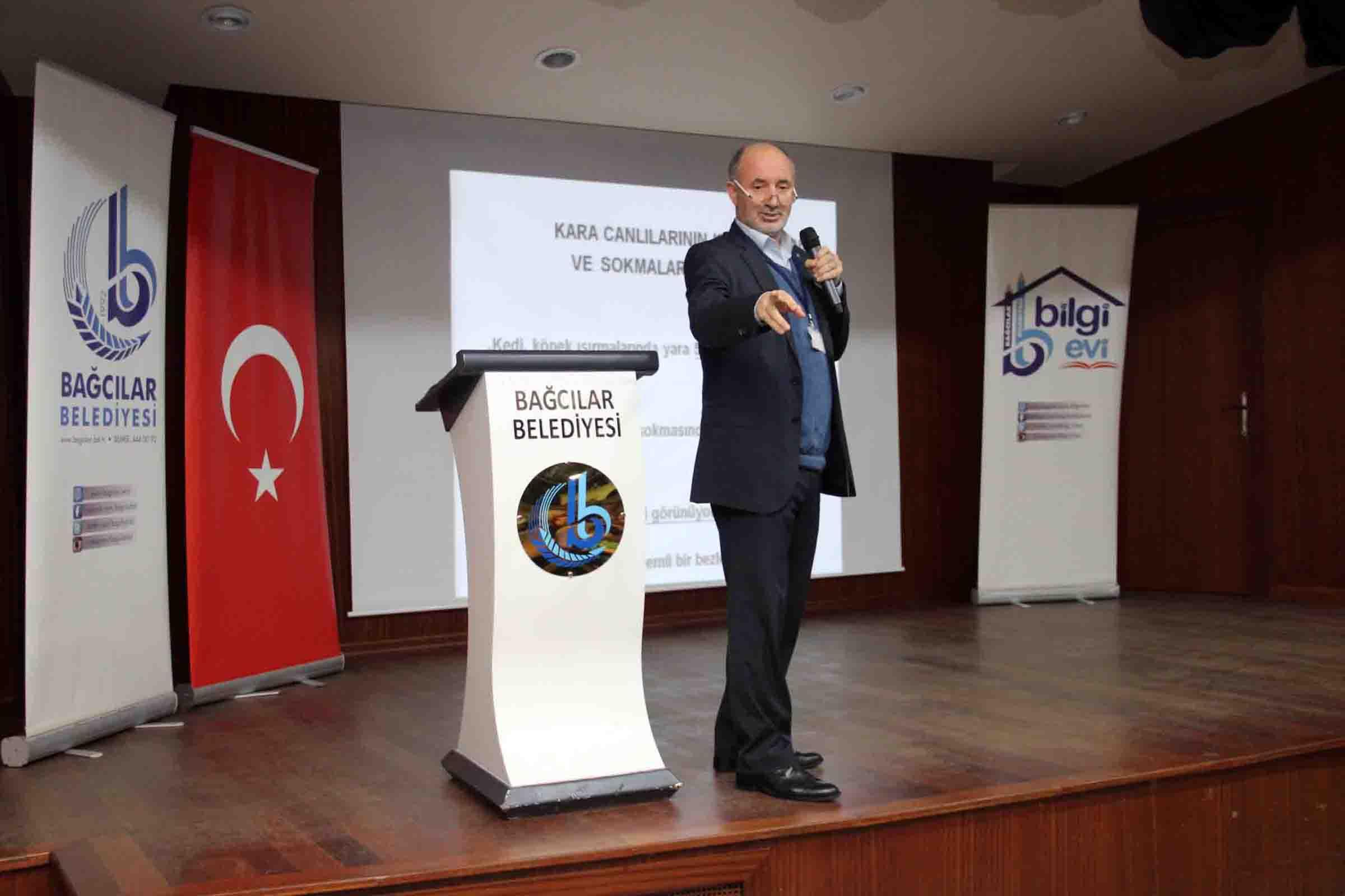 İstanbul, Bağcılar Belediyesi, Hayvan ısırıklarında ilkyardım ve Kuduz konulu bir seminer düzenledi.